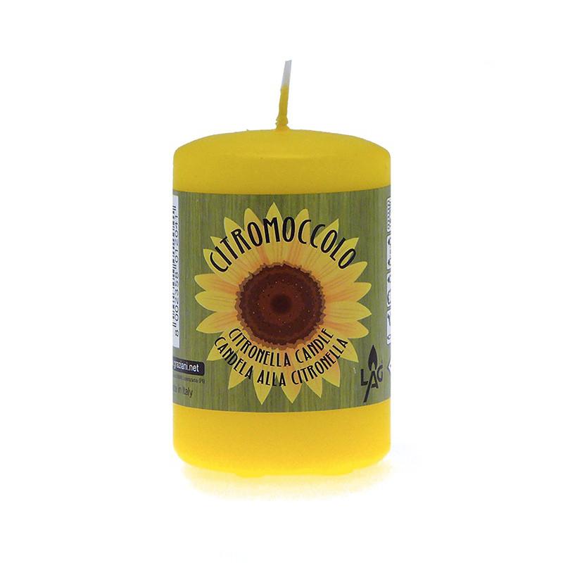candele alla citronella da interno - candelotto