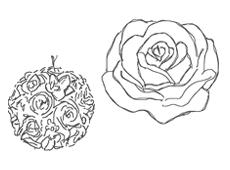 candele e accessori Graziani - candele floreali