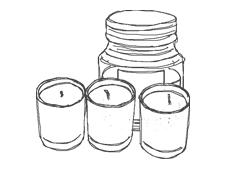 candele e accessori Graziani - candele profumate