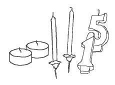 candele e accessori Graziani - candeline e tealight