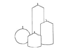 candele e accessori Graziani - candelotti e sfere
