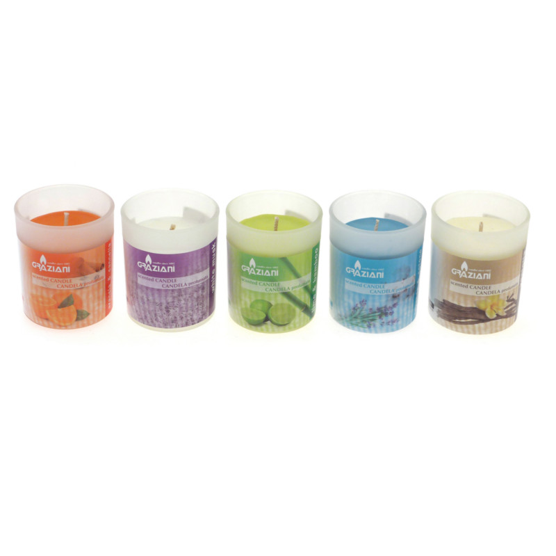 candele profumate - in bicchiere
