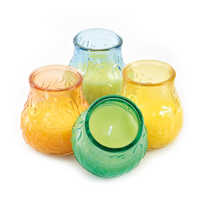 candele alla citronella da interno - boule