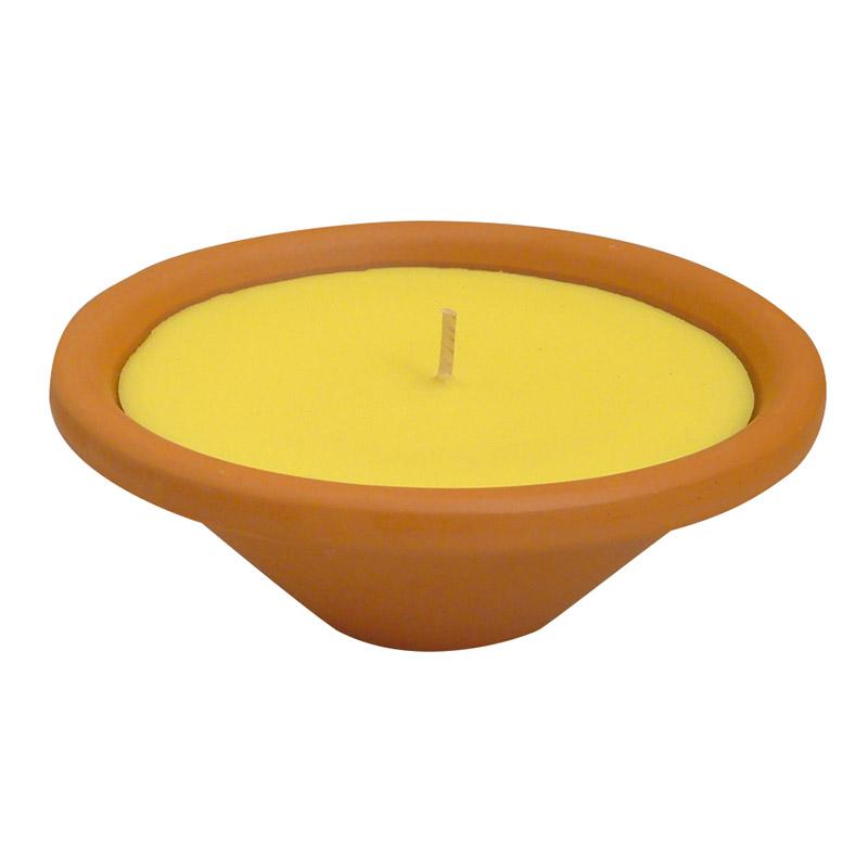 candele alla citronella da interno