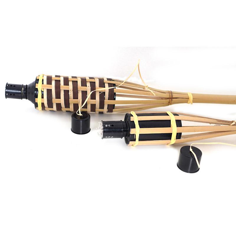 torce in bambù per luminarie e manifestazioni