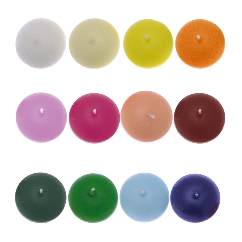 candelotti e sfere - candele galleggianti