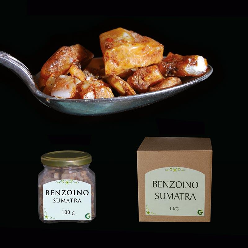 resine e prodotti aromatici - BENZOINO SUMATRA