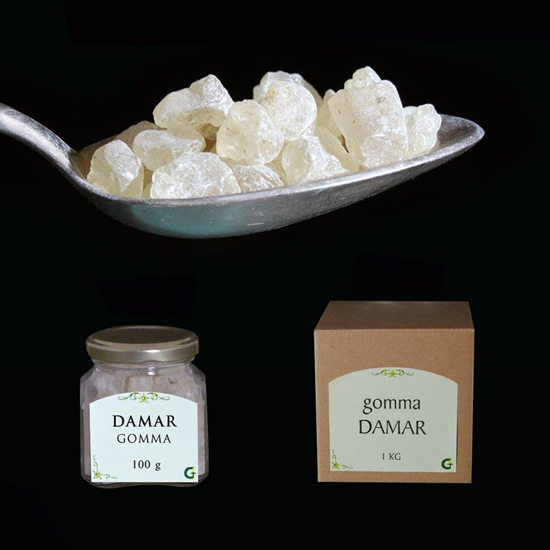 resine e prodotti aromatici - DAMAR