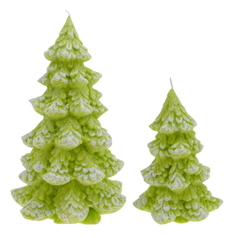 candele natalizie albero natale