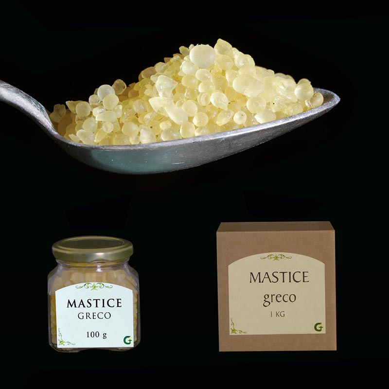 resine e prodotti aromatici - MASTICE GRECO