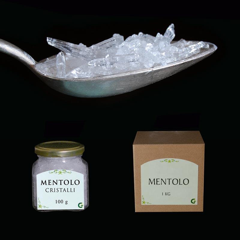resine e prodotti aromatici - MENTOLO