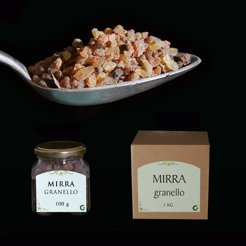 resine e prodotti aromatici - MIRRA