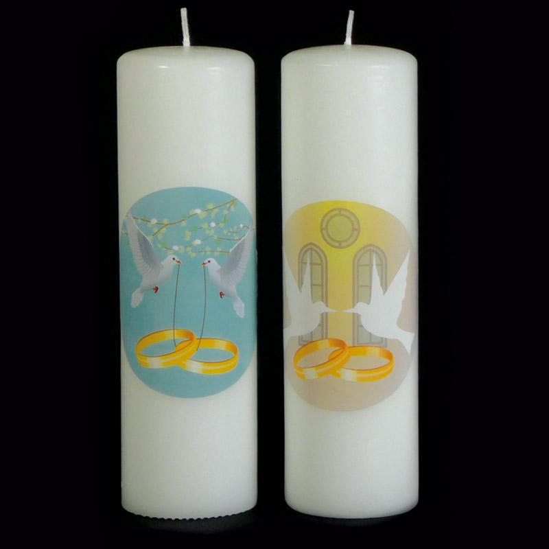 candele e accessori per sacramenti - candela matrimonio