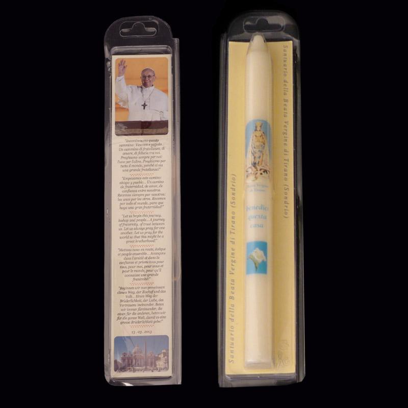 candele personalizzate per santuari e souvenir