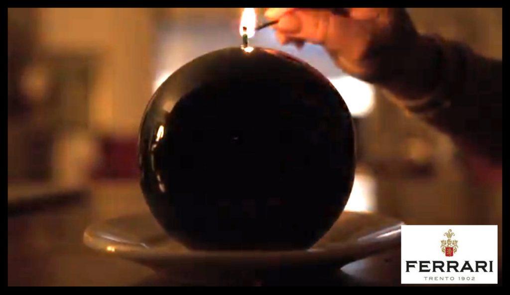 Guarda il video delle candele Meloria nello spot Ferrari Trento